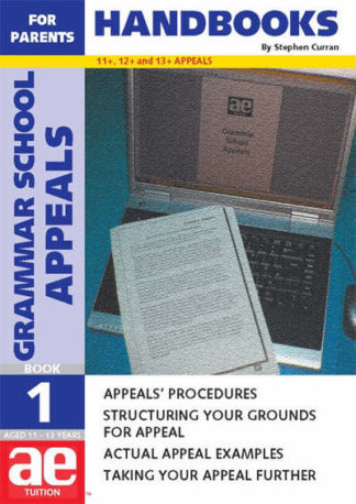 Grammar School Appeals by S.C Curran