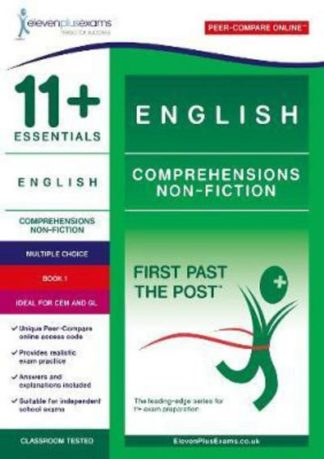 11+ Essentials English Comprehensions: Non Fiction Book 1 by