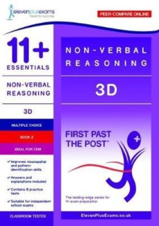 11+ Essentials - 3-D Non-verbal Reasoning Book 2 by