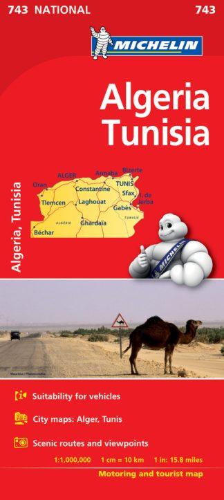 Algeria, Tunisia (743) by