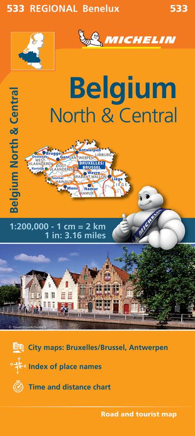 Noord-en Midden-Belgie / Belgique Nord Et Centre by