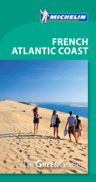 French Atlantic Coast Michelin Green Guide by