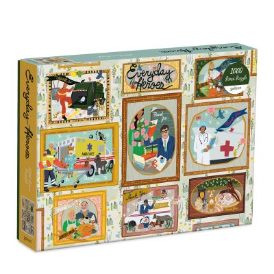 Everyday Heroes 1000 Piece Puzzle by  Galison