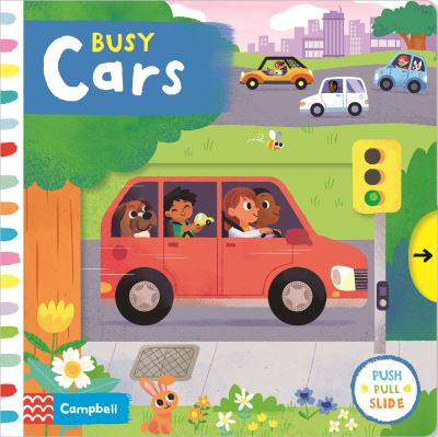 Busy Cars by Campbell Books