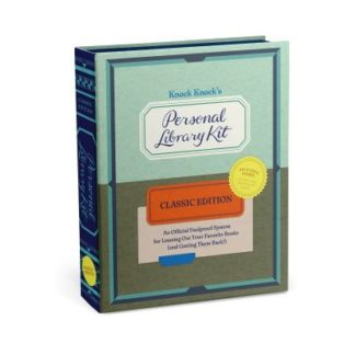 Knock Knock Personal Library Kit Classic Edition PLK Book Box by Knock Knock