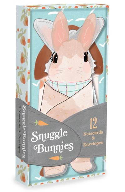 Snuggle Bunnies Notecards by