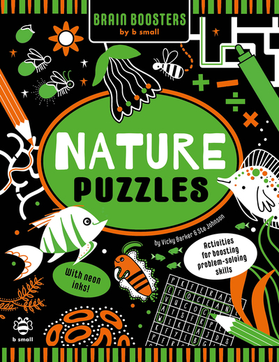 Nature Puzzles: Activities for Boosting Problem-Solving Skills by Vicky Barker